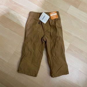 New Gymboree Boys Fleece Lined Pants 12-18 months